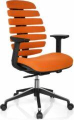 Hjh office Ergo Line II - Bureaustoel - Stof - Oranje