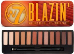 Donkerbruine W7 Blazin' Neutrals On Fire Eye Colour Palette