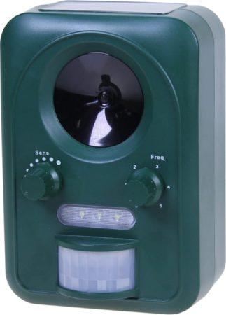 Afbeelding van Groene Artelier Innovations Universal Animal Repeller Dierenverjager - Verjager met ultrasound en knipperlicht
