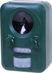Groene Universal Pets Repeller Universal Animal Repeller Dierenverjager - Verjager met ultrasound en knipperlicht