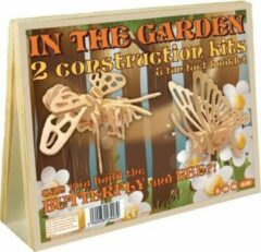 Professor Puzzle Animal Construction Kit - In the Garden Butterfly