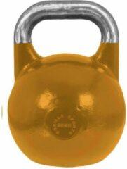 Oranje Gorilla Sports Kettlebell 28 kg Staal (competitie kettlebell)
