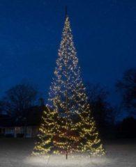 Zwarte Fairybell Vlaggenmastkerstboom met Mast 8 m