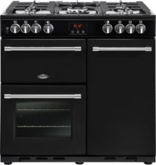 Belling Farmhouse 90 DFT Range cooker Gaskookplaat Zwart