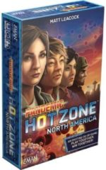 Blauwe Z-Man Games bordspel Pandemic: Hot Zone North America (en)