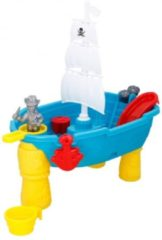Rode Eddy Toys Zand- En Watertafel Piraten Junior 54 X 45 X 31 Cm