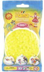 Hama beads Strijkkralen 1000 Stuks Geel Neon