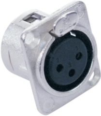 NEUTRIK XLR mounting socket 3pin NC3FDL-1