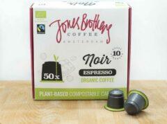 Jones Brothers Coffee composteerbare koffiecups Noir - 50 cups