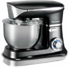 Roestvrijstalen Techwood – Keukenmachine - Staande mixer – 1300 Watt