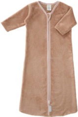 Cottonbaby Bamboe Baby Slaapzak met mouw - 110 cm - oudroze