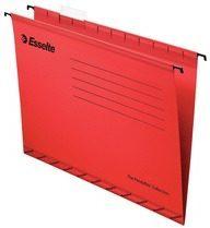 Esselte hangmappen voor laden Pendaflex Plus tussenafstand 330 mm, rood, doos van 25 stuks