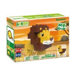 Gele BiOBUDDi bouwpakket Wildlife Savanna 11 delig (BB 0102)