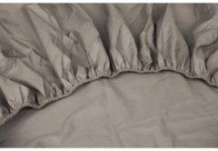 Dubbel Jersy Dubbel Jersey Hoeslaken Extra Dikke kwaliteit | 140x200 / 220 cm - Taupe | 100% Zacht Comfort Katoen