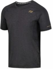 Zilveren Zone3 Power Burst T-Shirt - Hardloopshirts (korte mouwen)