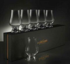 Transparante The Glencairn Glencairn whiskey glas set van 6 - Whisky cadeau - Luxe geschenkdoos