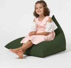 Xoft Living Pryde Linnen Kinderzitzak - Groen
