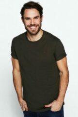 Rockford Mills Heren T-shirt Maat M Groen