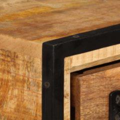 Bruine 5 days Tv-meubel met lades 120x30x40 cm massief mangohout