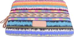 Lisen – Laptop Sleeve tot 13 inch – 34,5 x 24 x 1,5 cm - Bohemian Style – Multi colour