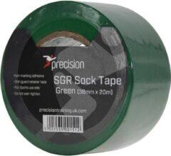 Precision Sokkentape 20 M X 38 Mm Pvc Groen 5 Stuks