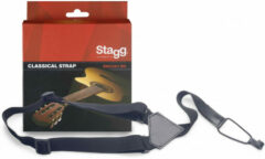 Stagg SNCL001BK draagband voor klassieke gitaar
