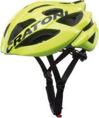 CRATONI 110407D2 Fahrradhelm Cratoni C-Bolt (Road) Gr. M/L (56-59cm) glanz, neongelb/schwarz (1 Stück)