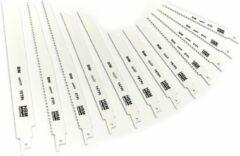 Lemato 12 Delige Bi-Metaal Reciprozaagbladen Set