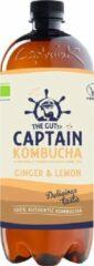 Captain Kombucha - 1000ml - Ginger Lemon