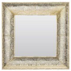 Beliani Plerin Wandspiegel Metaal 4 X 60 Cm