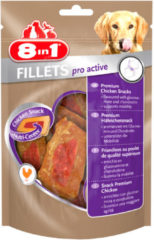 8in1 Fillets Pro Small - Hondensnacks - 80 g Active - Hondenvoer