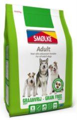 Smolke Adult Grain Free Formula Kip&Groente&Lam - Hondenvoer - 12 kg - Hondenvoer