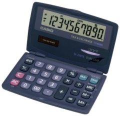Zakrekenmachine Casio SL-210TE Antraciet Aantal displayposities: 10 werkt op zonne-energie, werkt op batterijen