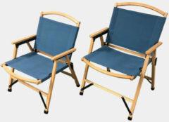 Human Comfort Chair Dolo Campingstoel Donkerblauw