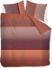 Rode Kardol & Verstraten Kardol Alluring Dekbedovertrek - 2-persoons (200x200/220 Cm + 2 Slopen) - Katoen Satijn - Red