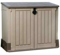 Groene Keter Store It Out Midi opbergkast 132x74xH110 cm - beige
