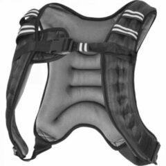 Grijze Gorilla Sports Gewichtsvest - Weight Vest - Allround - Universele verstelbare maat - 8 kg