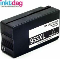 Afbeelding van Inktdag inktcartridges voor HP 953xl zwart, Hoge Capaciteit (1stuk)