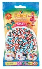 Hama Strijkkralen 1000 Stuks 2 Kleurig Gemixed (091)