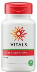 Vitals Acetyl-L-carnitine 500 mg Sportvoeding - 60 vegicaps