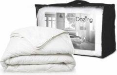 Witte 4 Seizoenen Dekbed Dozing 90% Eendendons-240 x 200 cm