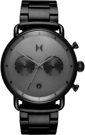 Afbeelding van MVMT Blacktop D-BT01-BB - Horloge - Zwart - Staal - 47mm