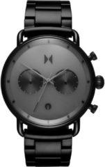 MVMT Blacktop D-BT01-BB - Horloge - Zwart - Staal - 47mm