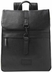 Castelijn & Beerens Tango Backpack 15.6'' black Leren tas