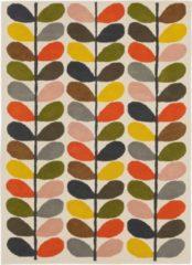 Orla Kiely - Multi Stem 59505 Vloerkleed - 120x180 cm - Rechthoekig - Laagpolig Tapijt - Scandinavisch - Meerkleurig