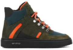 Laarzen Hip Shoestyle boys groen H1097-194