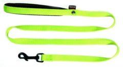 Groene Martin sellier looplijn voor hond nylon groen 16 mmx120 cm