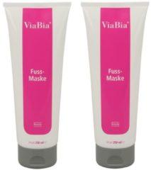 ViaBia Fuss-Maske 2 x 250 ml