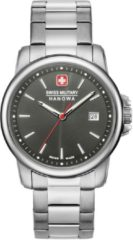 Zilveren Swiss Military Hanowa - Swiss Made - herenhorloge Swiss Recruit II 06-5230.7.04.009