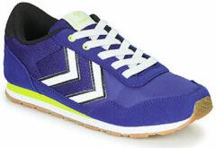 Blauwe Hummel Reflex JR Sneakers - Mazarine Blue - Maat 34